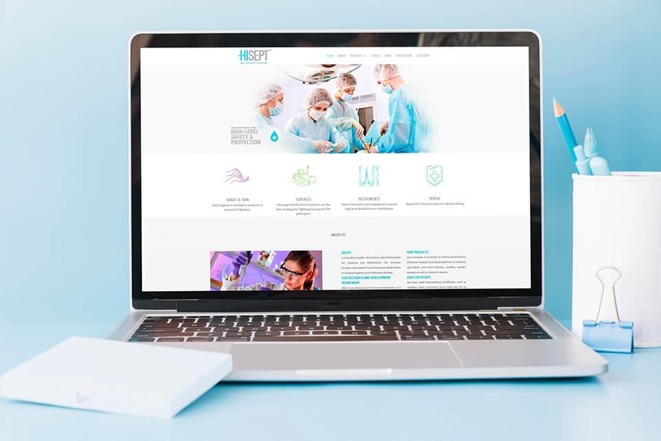 طراحي سایت هایسپت 1