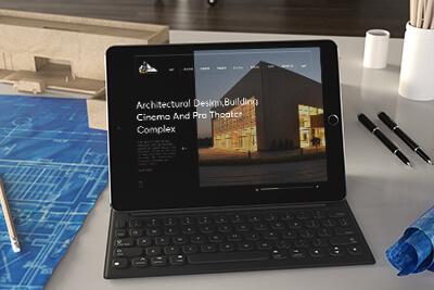 طراحی سایت شرکت پادیاو