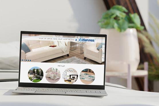 طراحی سایت شرکت مرینوس