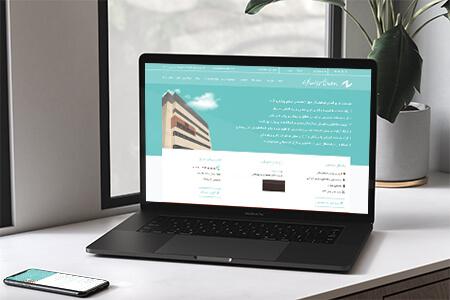 طراحی سایت بیمارستان فوق تخصصی چشم پزشکی نگاه